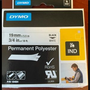 Dymo #18484 Label Maker Tape